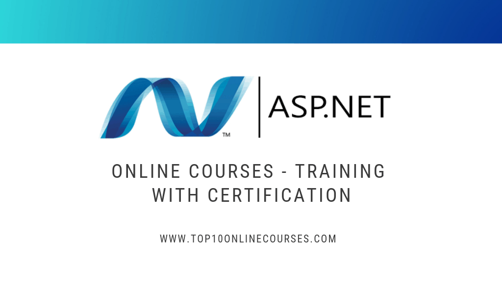 ASP .NET Online Courses, Training with Certification