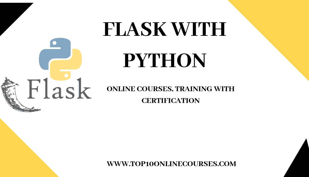 Best Flask with Python Online Courses, Training with Certification
