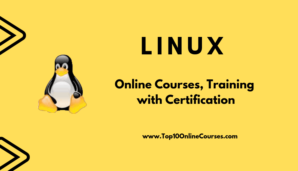 Best Linux Online Courses, Training with Certification