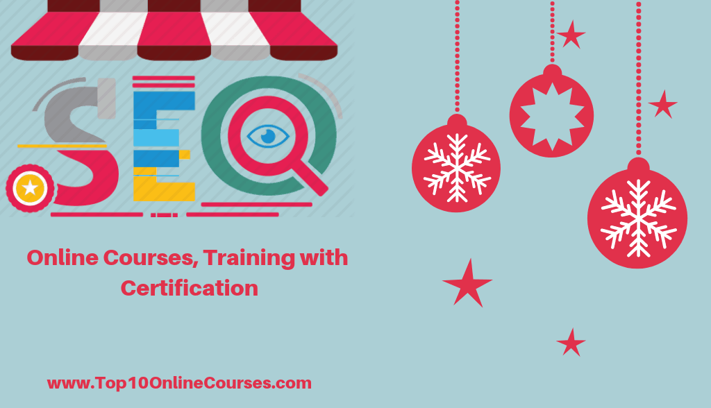 Best SEO Online Courses, Training with Certification