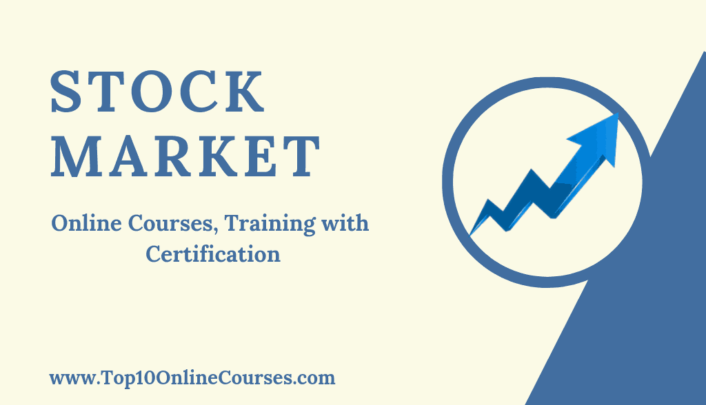 Best Stock Market Online Courses, Training with Certification