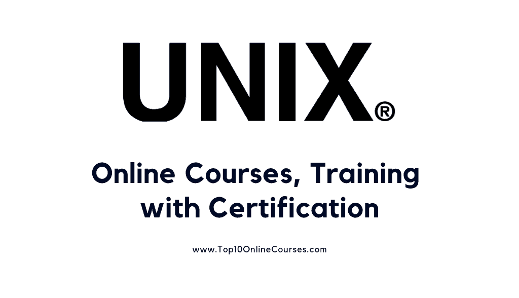 Best Unix Online Courses, Training with Certification