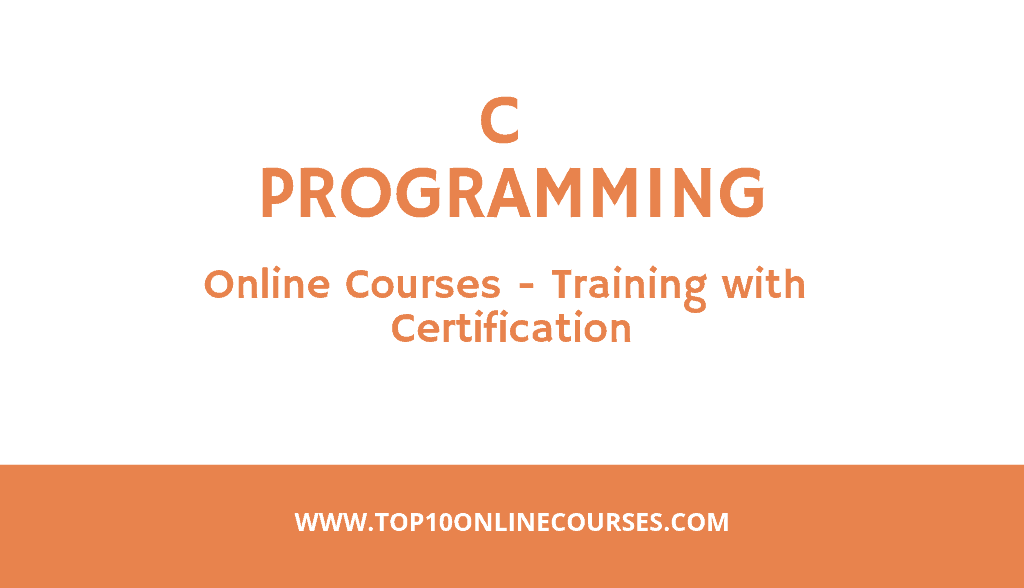 C Programming Online Courses Training with Certification