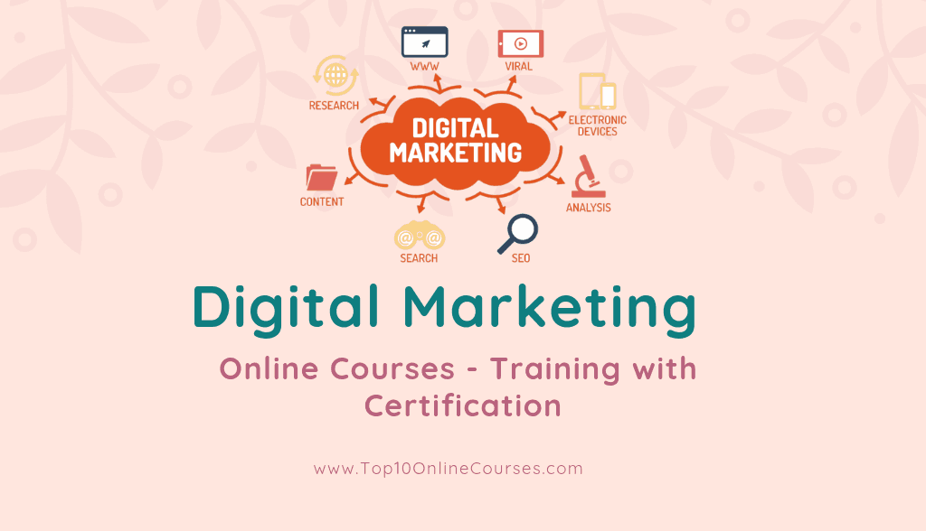 Digital Marketing Online Courses - Training with Certification