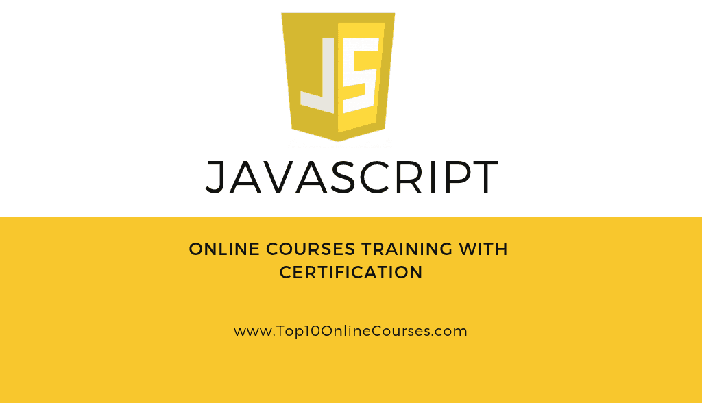 Javascript Online Courses - Training with Certification