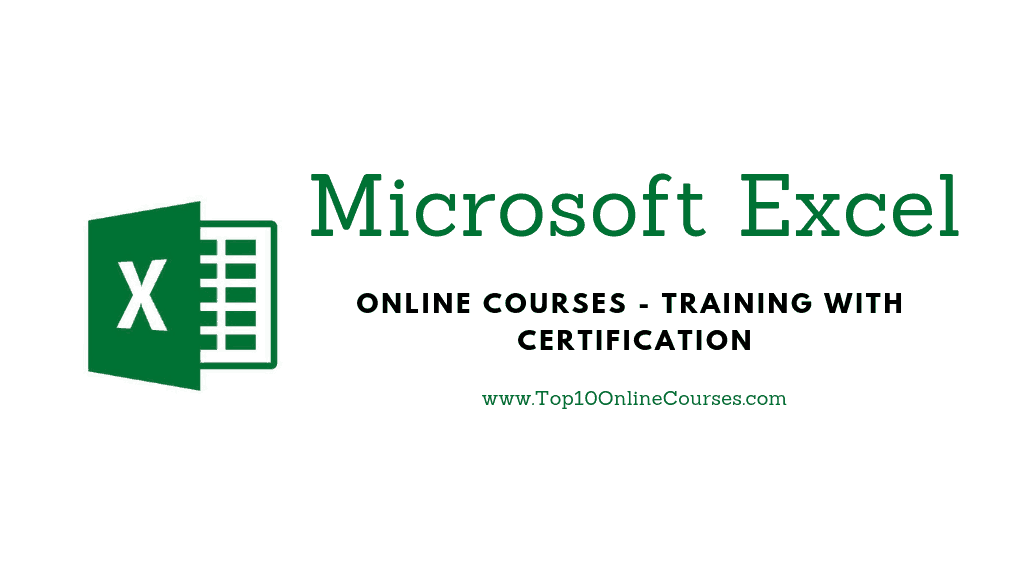 Best MS Excel Online Courses, Training with Certification