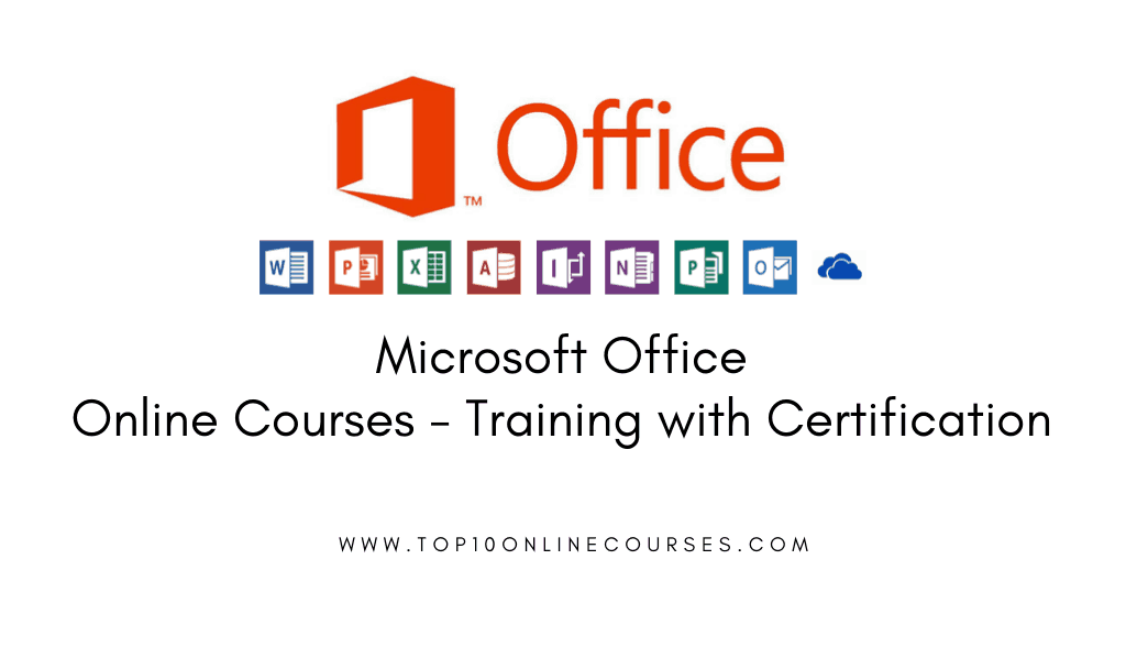 Best Ms Office Online Courses Training With Certification 2019