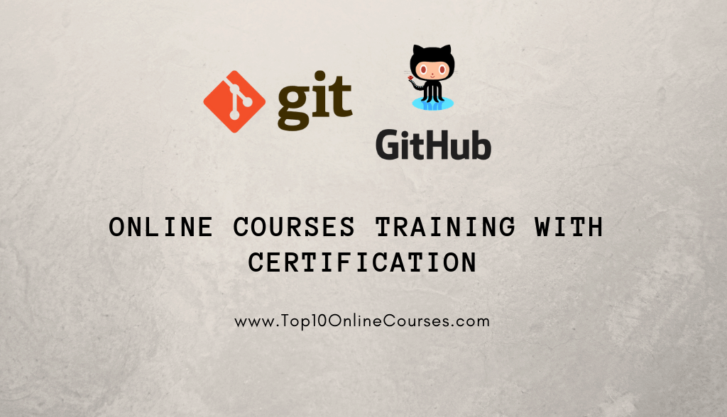 Git & Github Online Courses - Training with Certification