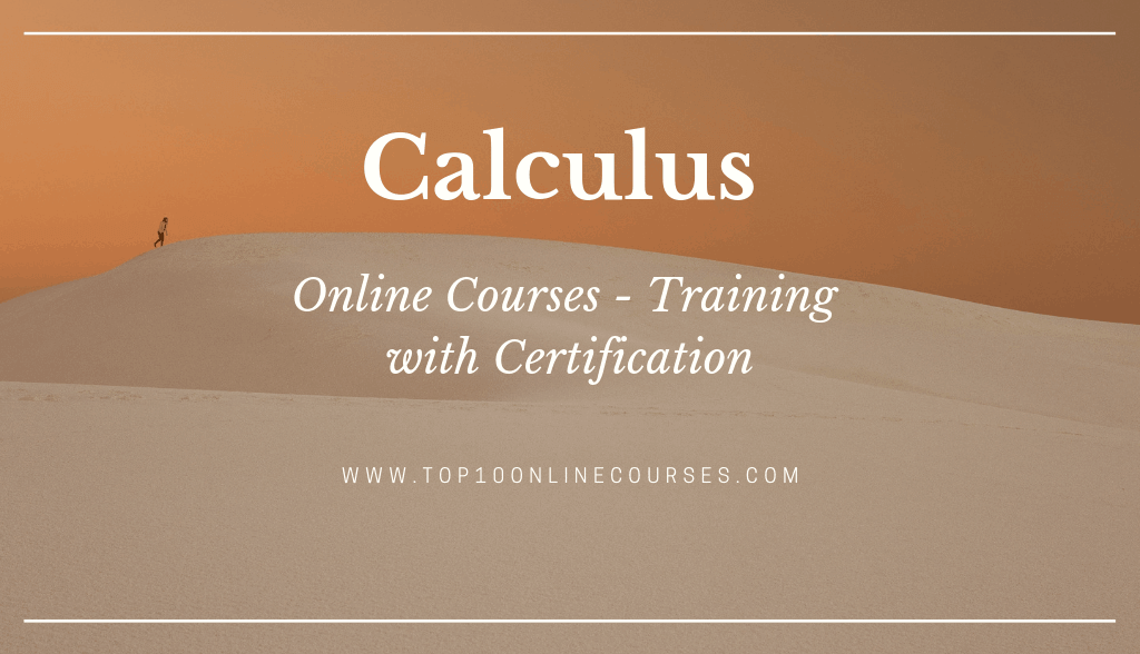 Calculus Online Courses with Certification Training