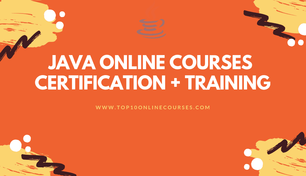 Java Online Courses with Certification Training