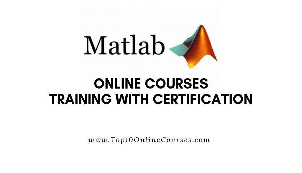 Matlab Online Courses with Certification Training