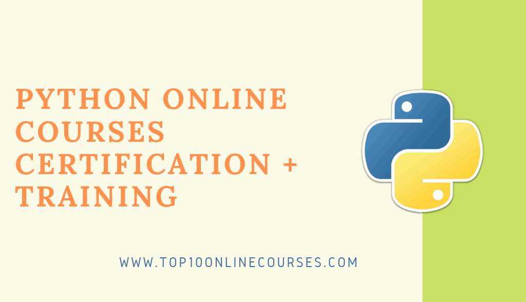Python Online Courses with Certification Training