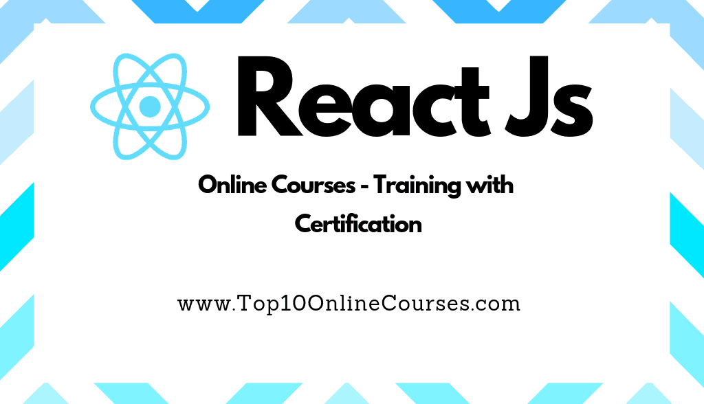 React Js Online Courses with Certification Training