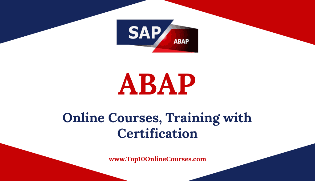 ABAP Online Courses, Training with Certification