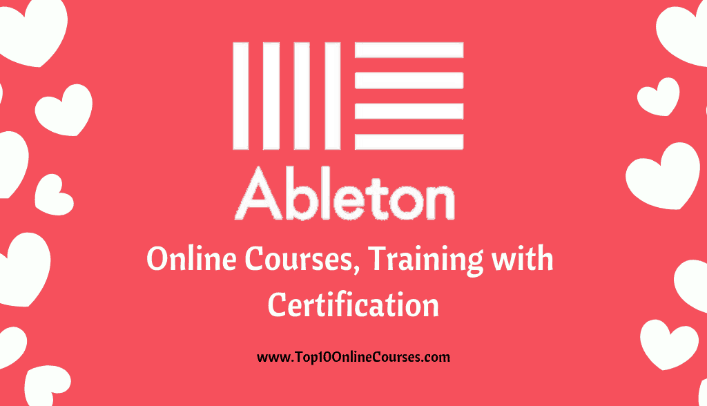 Ableton Online Courses, Training with Certification