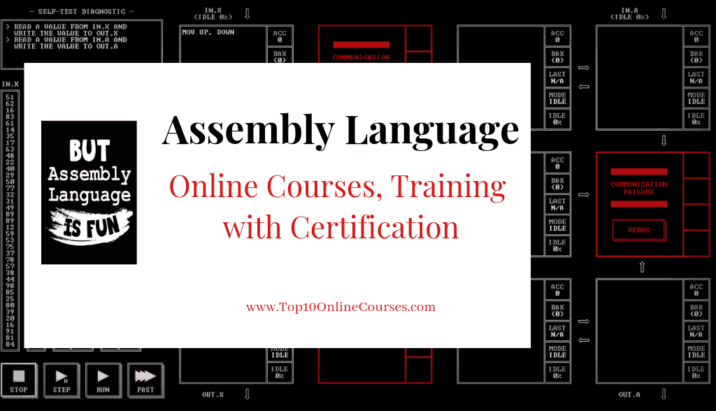 Assembly Language Online Courses, Training with Certification