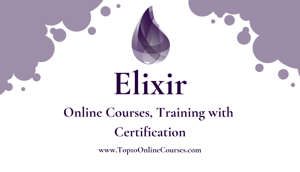 Elixir Online Courses, Training with Certification