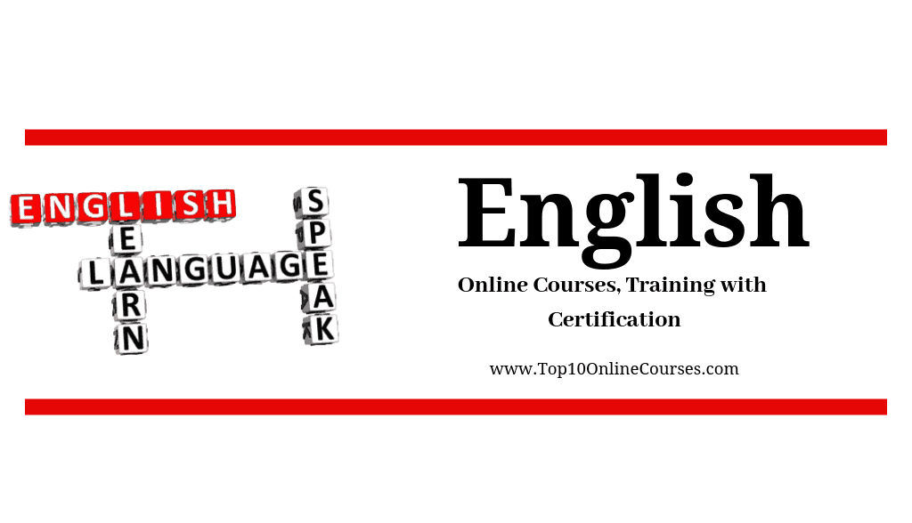 English Online Courses, Training with Certification