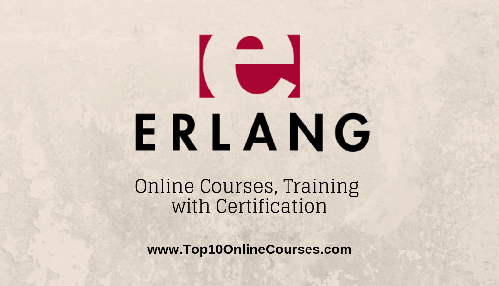 Erlang Online Courses, Training with Certification
