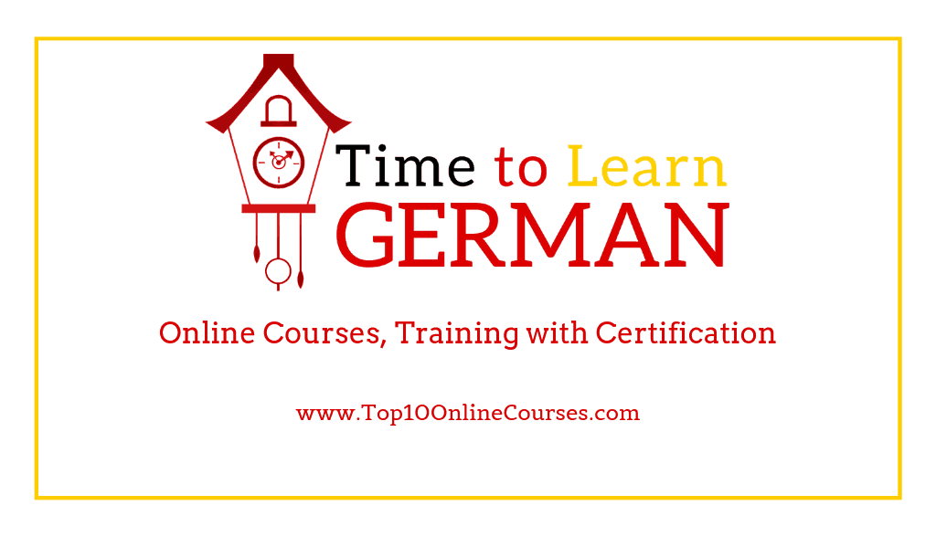 German Online Courses, Training with Certification
