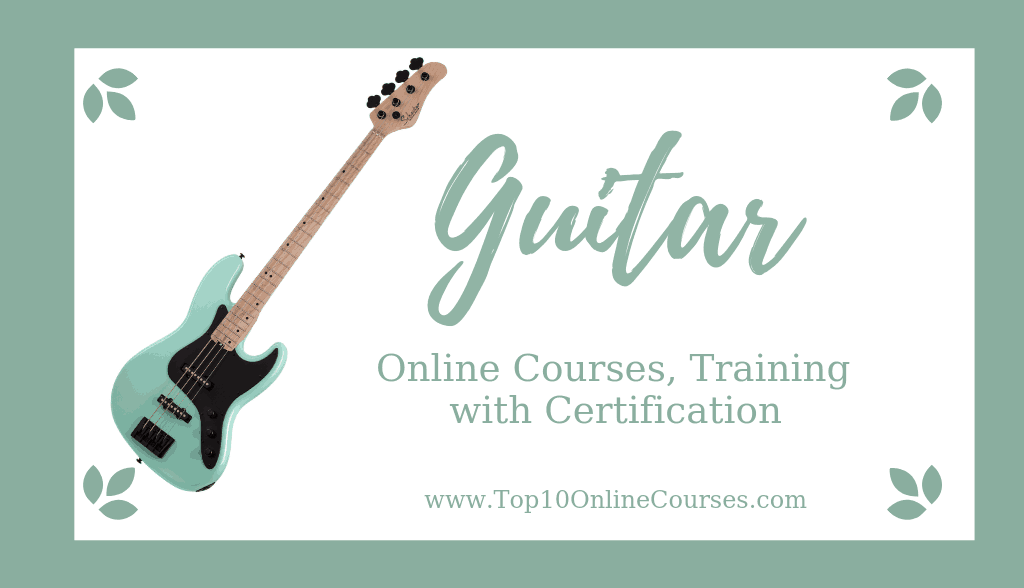 Guitar Online Courses, Training with Certification