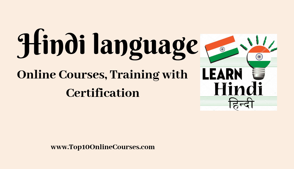 Hindi Online Courses, Training with Certification