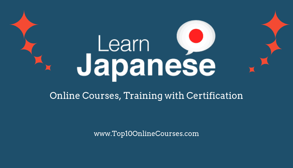 Japanese Online Courses, Training with Certification