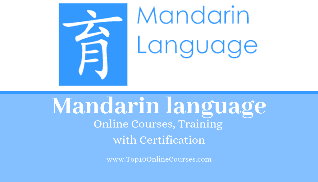 Mandarin Online Courses, Training with Certification
