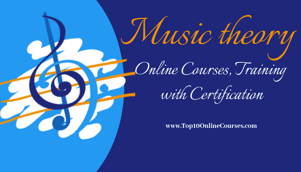 Music Theory Online Courses, Training with Certification