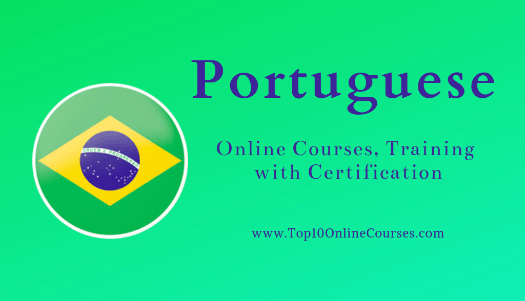 Portuguese Online Courses, Training with Certification