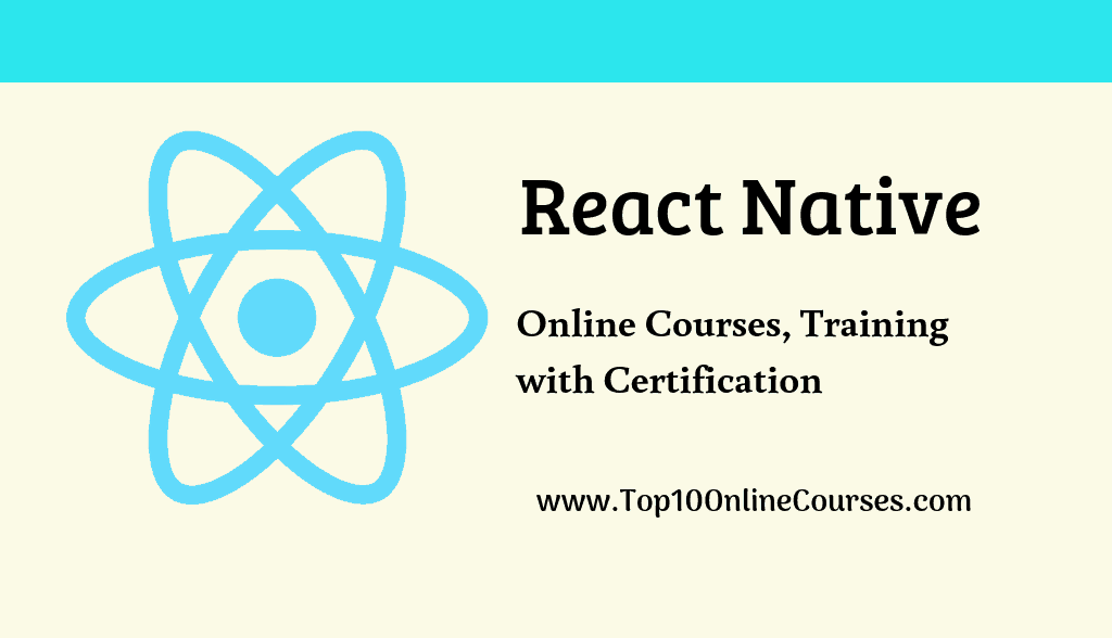 React Native Online Courses, Training with Certification