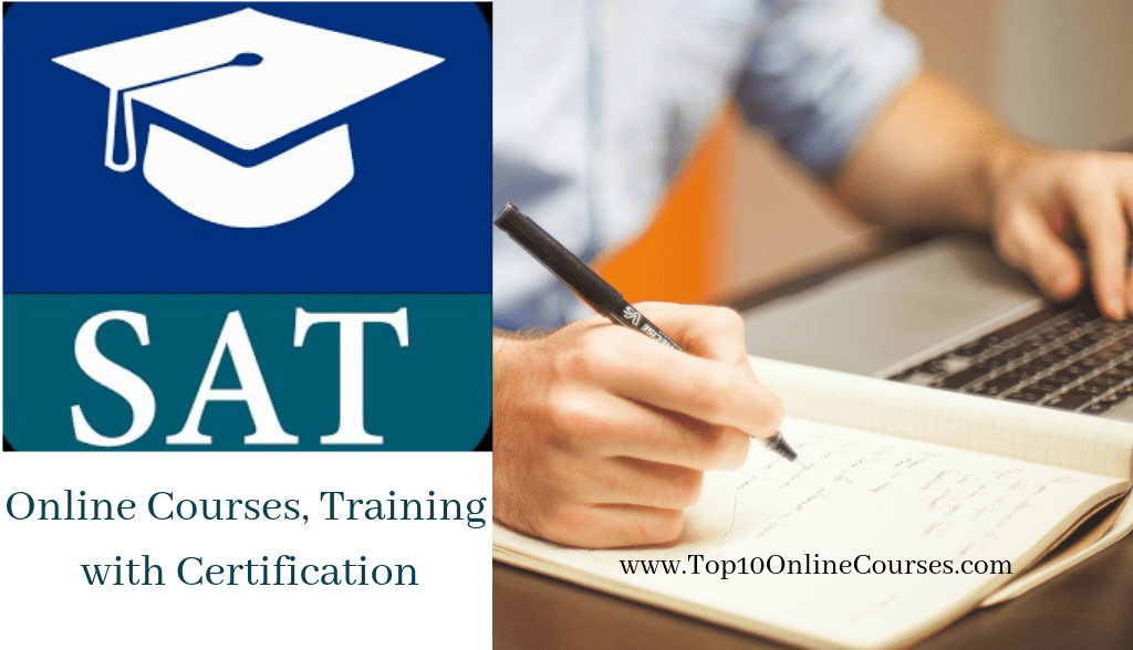 SAT Online Courses, Training with Certification