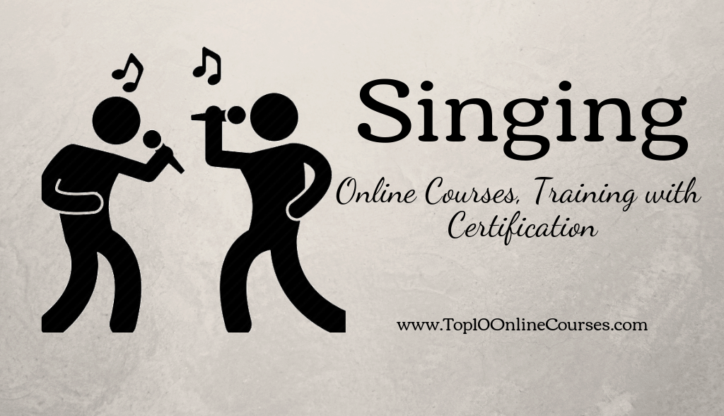 Singing Online Courses, Training with Certification