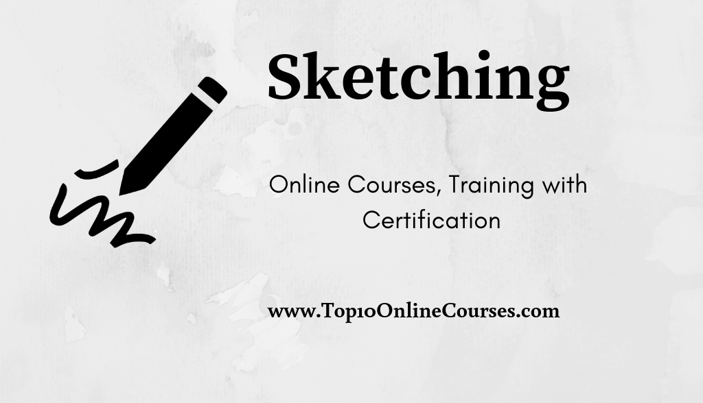 Sketching Online Courses, Training with Certification