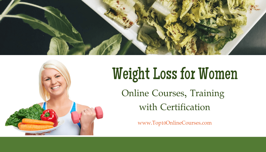 Weight Loss for Women Online Courses and Training