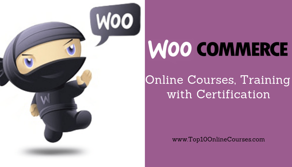 Woocommerce Online Courses, Training with Certification