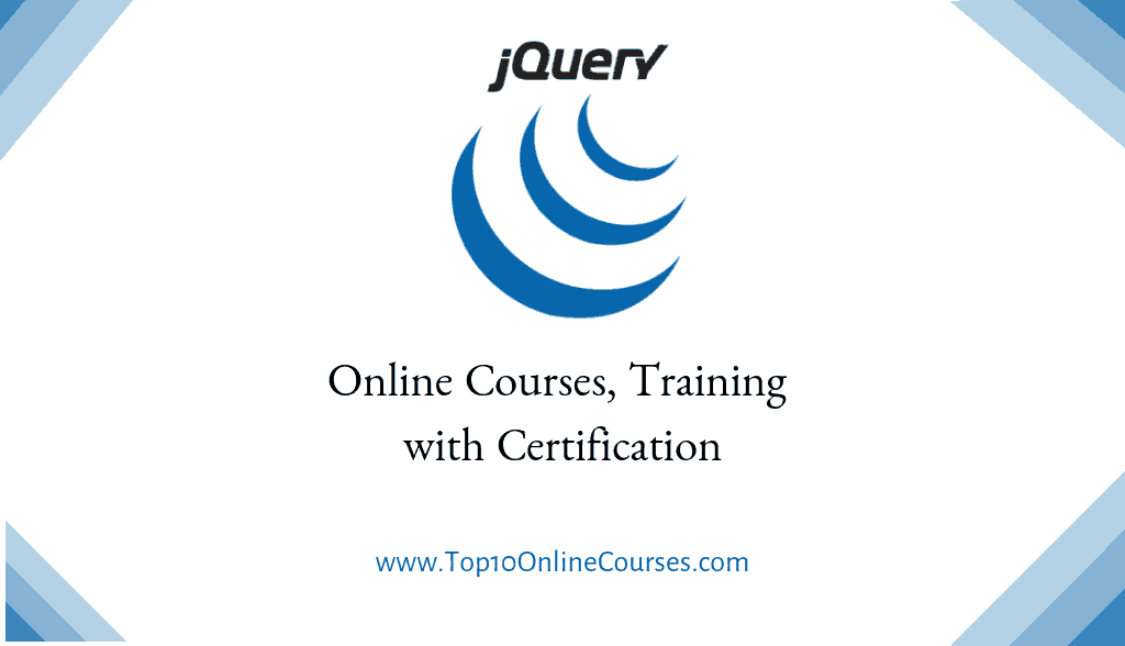 jQuery Online Courses, Training with Certification