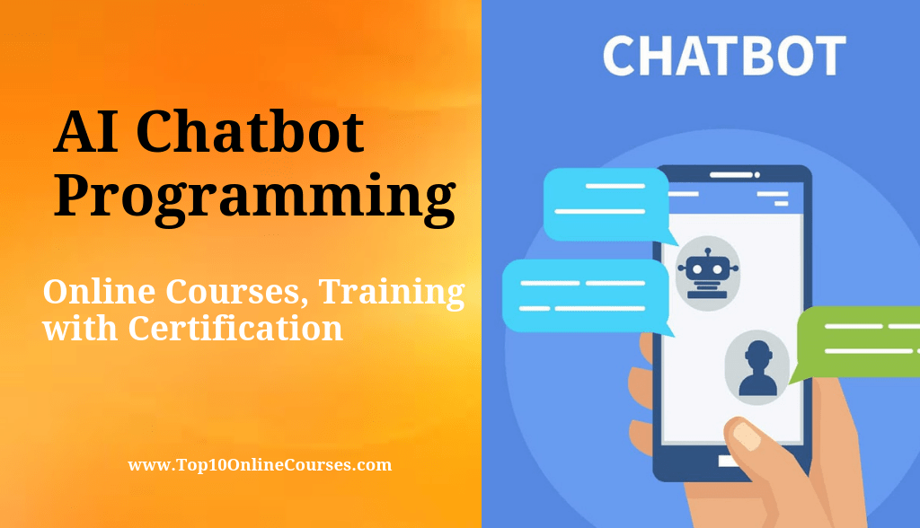 AI Chatbot Programming Online Courses, Training with Certification