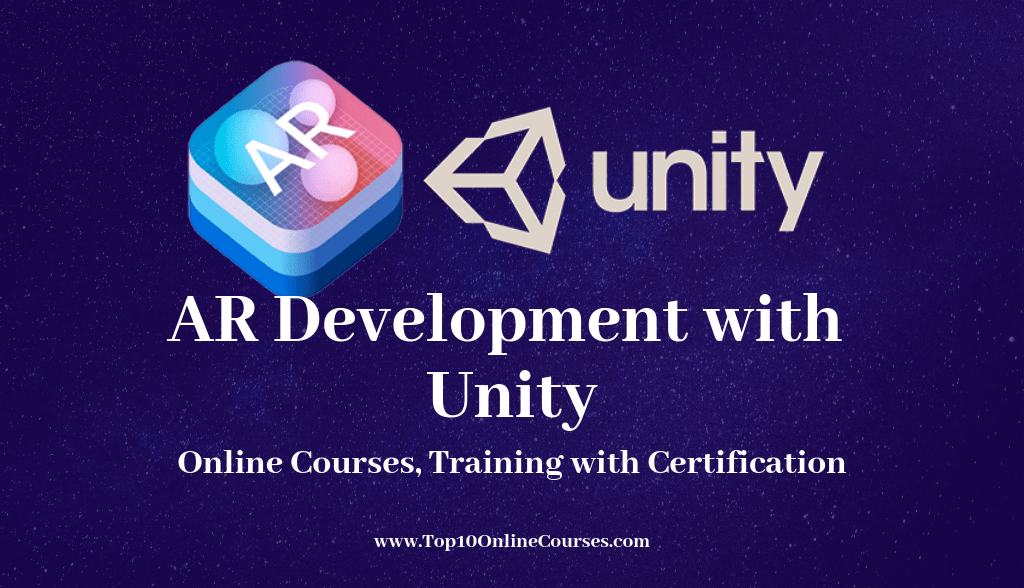 AR Development with Unity Online Courses, Training with Certification