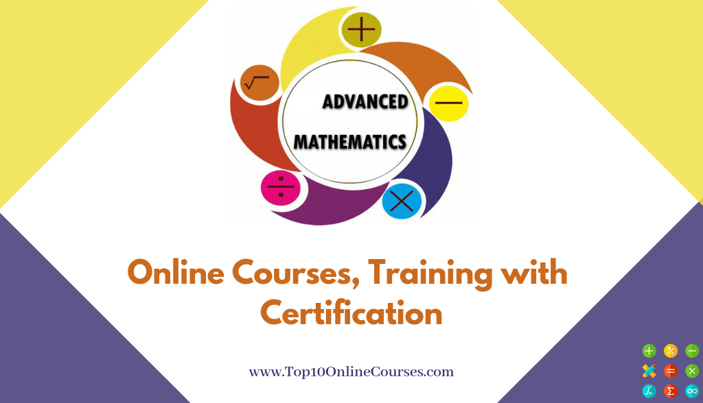 Advance Maths Online Courses, Training with Certification