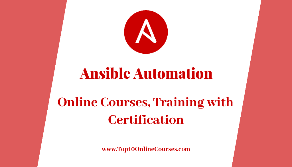 Ansible Automation Online Courses, Training with Certification