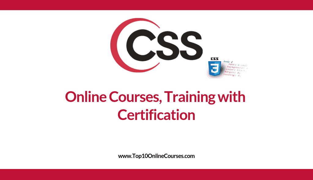 CSS Online Courses, Training with Certification