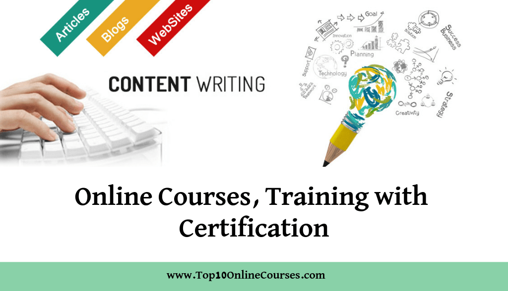 Content writing Online Courses, Training with Certification