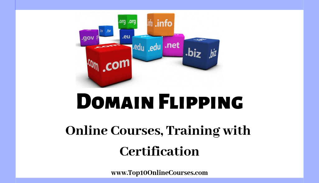 Domain Flipping Online Courses, Training with Certification