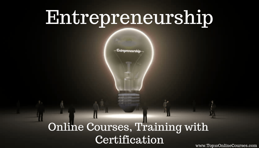 Entrepreneurship Online Courses, Training with Certification