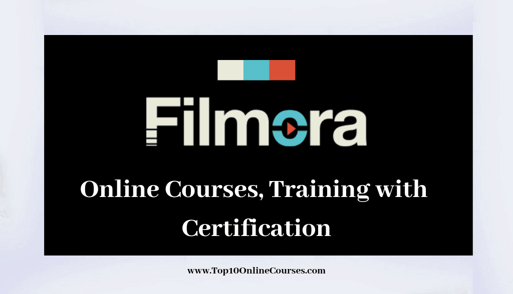 Best Filmora Video Editing Online Courses, Training with