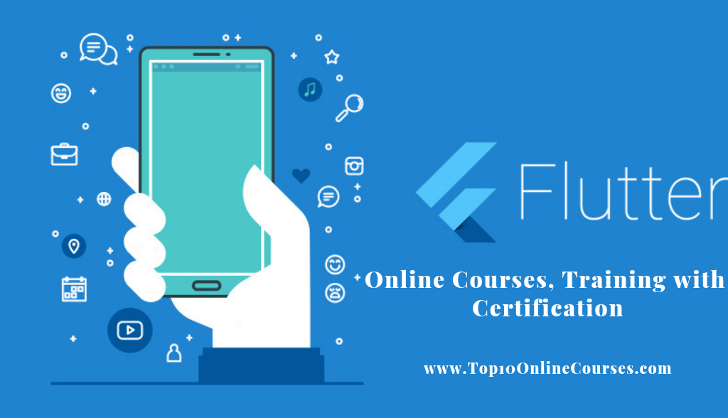 Flutter Online Courses, Training with Certification