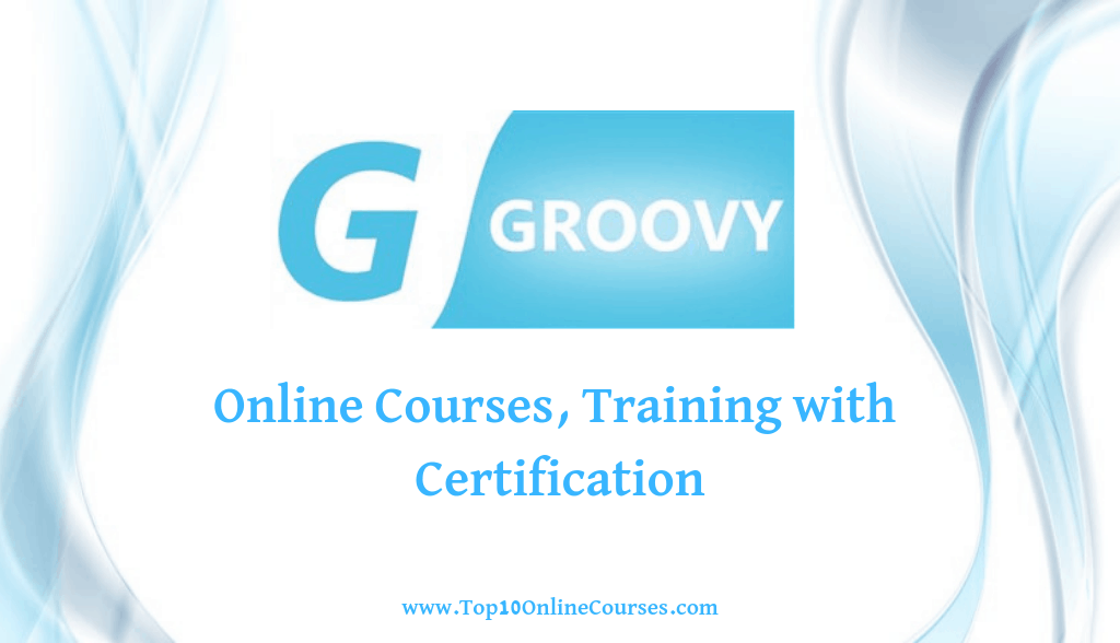 Groovy Online Courses, Training with Certification