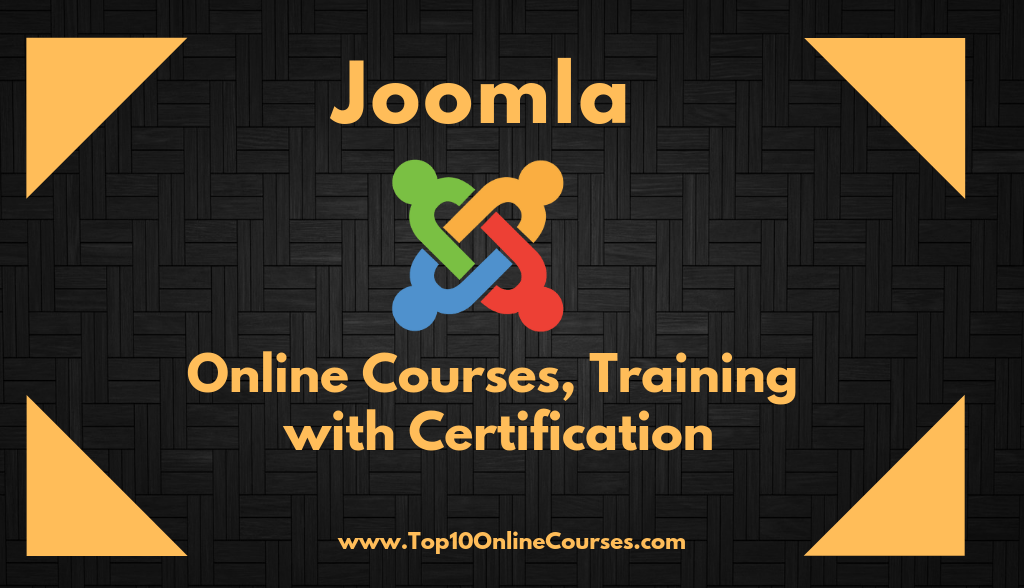Joomla Online Courses, Training with Certification
