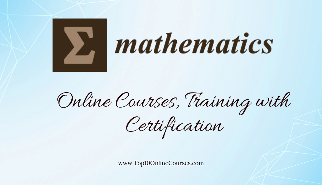 Maths Foundation Online Courses, Training with Certification